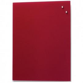 Glassboard Rood 60x90cm