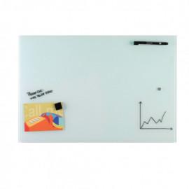 Glassboard Wit 60x90cm