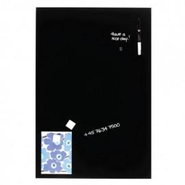 Glassboard Zwart 60x90cm