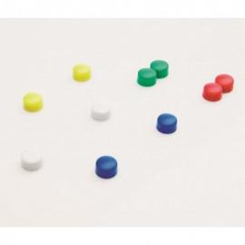 Gekleurde Memomagneten 10 stuks 10mm