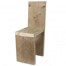 Steigerhouten Kinderstoel