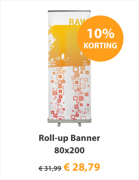 Roll-up Banner 80x200 Basic