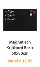 Magnetisch Krijtbord Basic 60x80cm